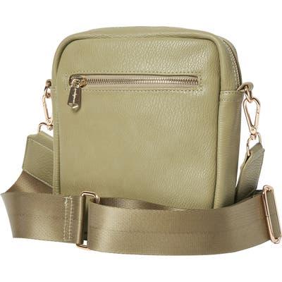 Urban Originals Catch Up Vegan Leather Crossbody Bag - Green