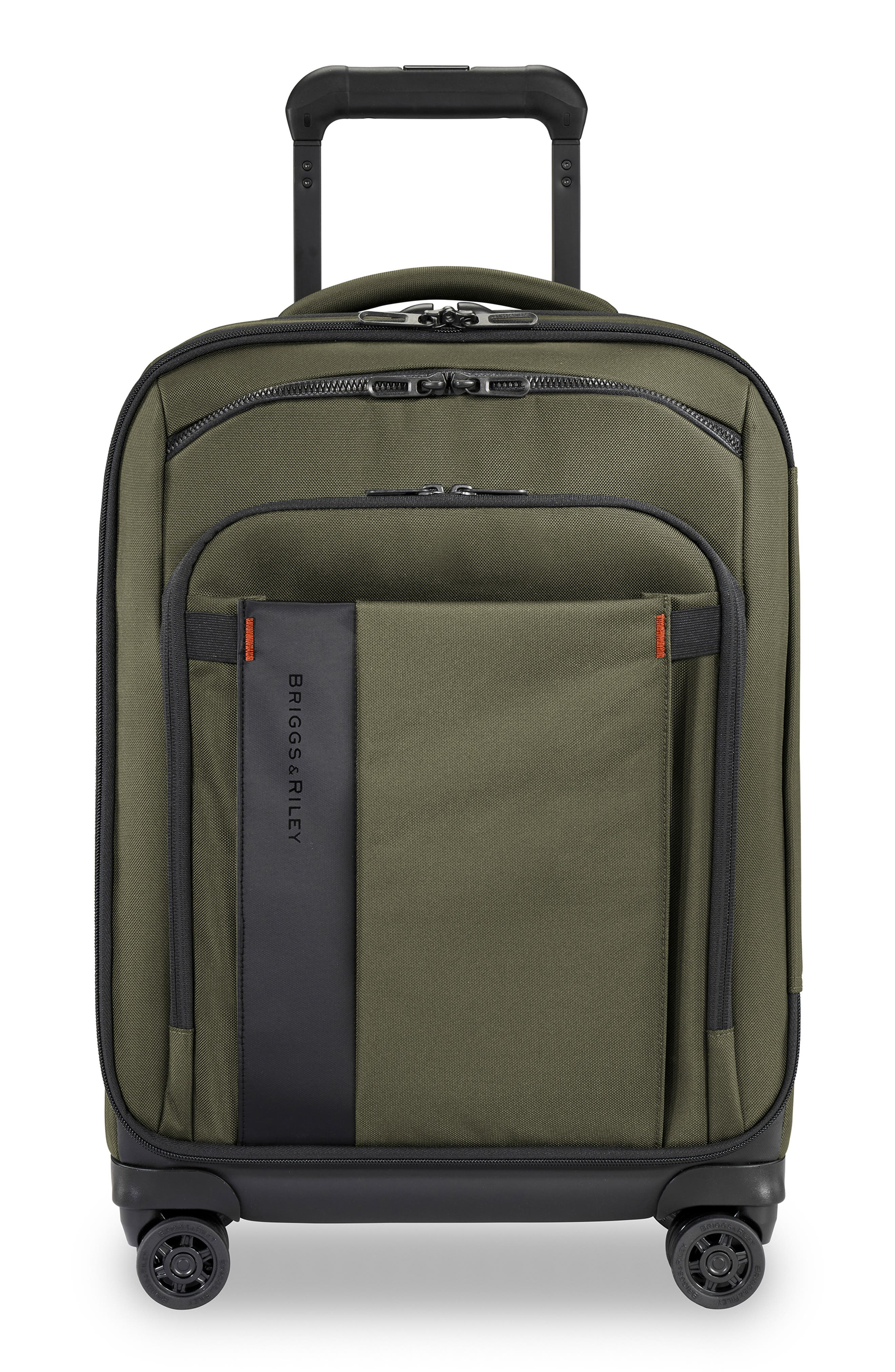 Zdx 21-Inch Expandable Spinner Suitcase