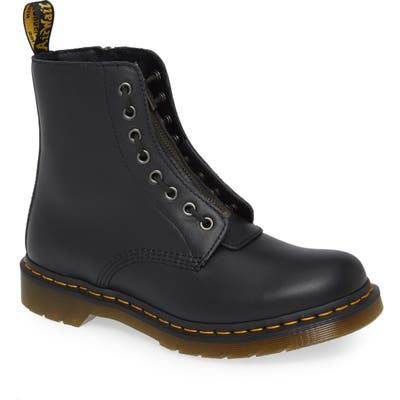 Dr. Martens 1460 Pascal Front Zip Boot, Black
