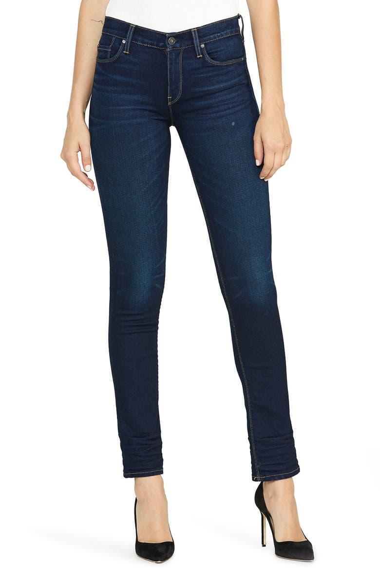 HUDSON JEANS Nico Straight Leg Jeans, Main, color, REQUIEM