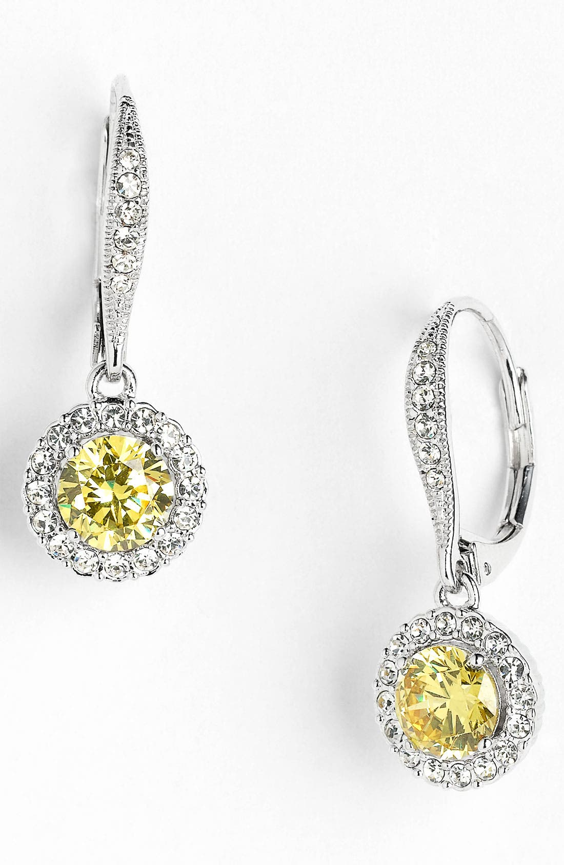 ,                             Cubic Zirconia Drop Earrings,                             Main thumbnail 26, color,                             700