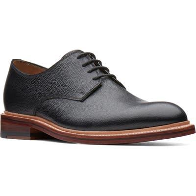Bostonian Somerville Pebbled Plain Toe Derby, Black