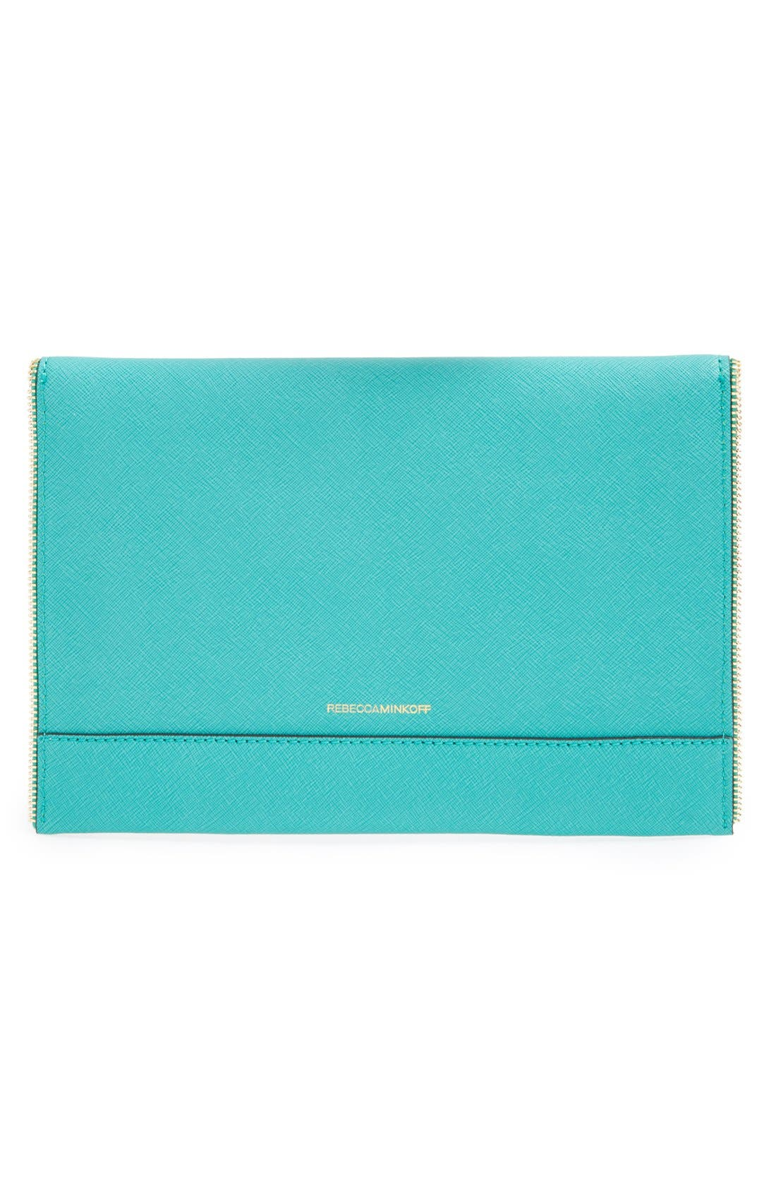 ,                             Leo Envelope Clutch,                             Alternate thumbnail 208, color,                             441