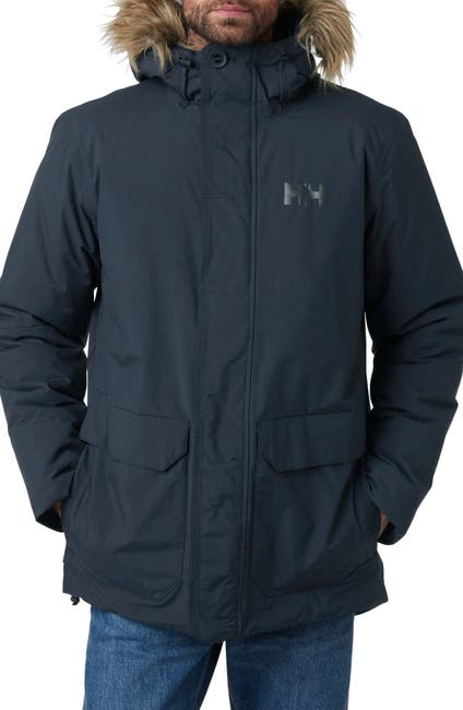 Image of Helly Hansen Classic Faux Fur Hooded Parka
