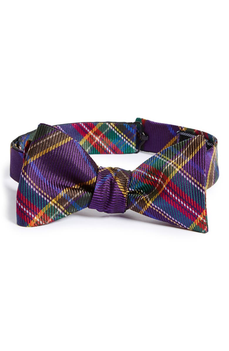 DAVID DONAHUE Silk Bow Tie, Main, color, 500