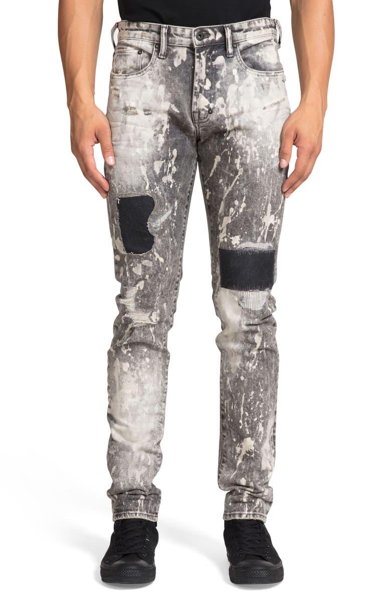 PRPS Windsor Rip & Repair Extra Slim Fit Jeans, Main, color, 020