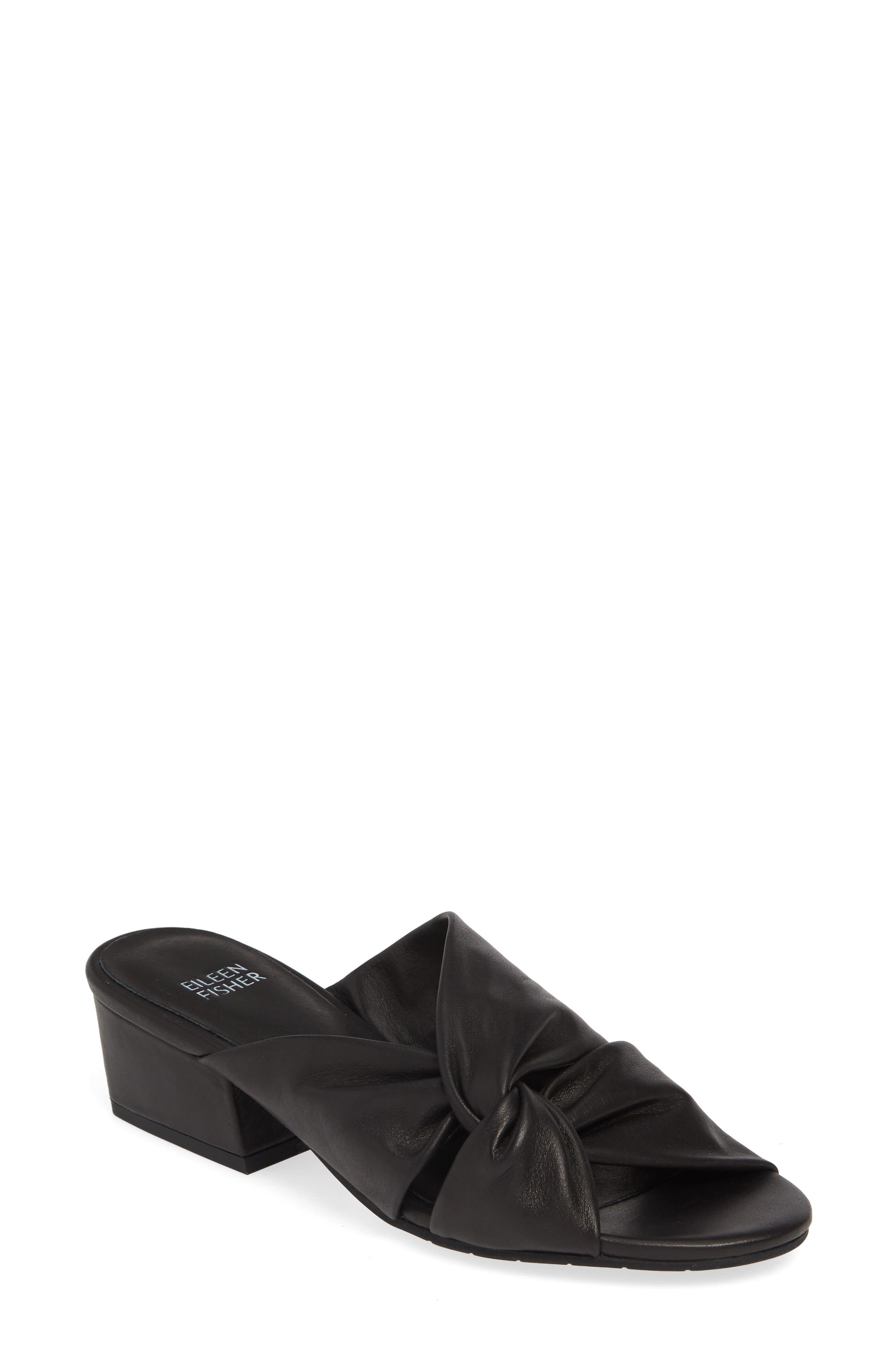 Eileen Fisher Sandals Petula Twisted Slide Sandal