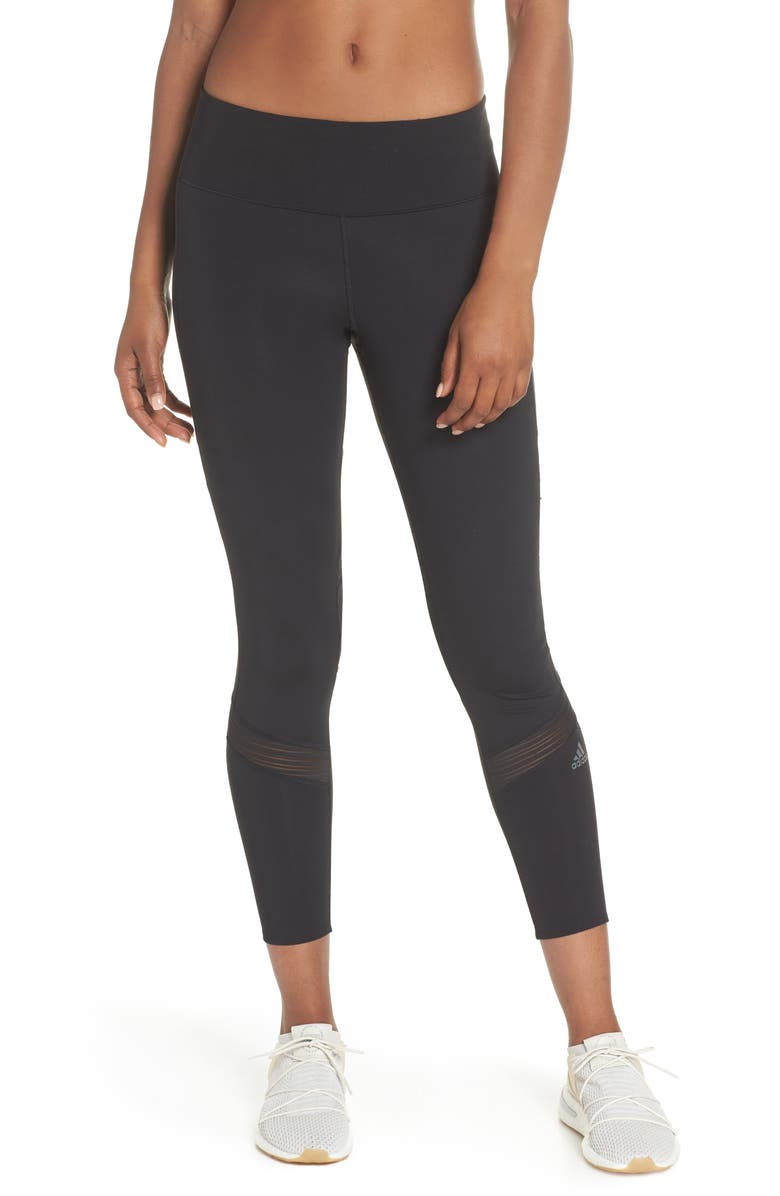 ADIDAS How We Do Active Tights, Main, color, 001