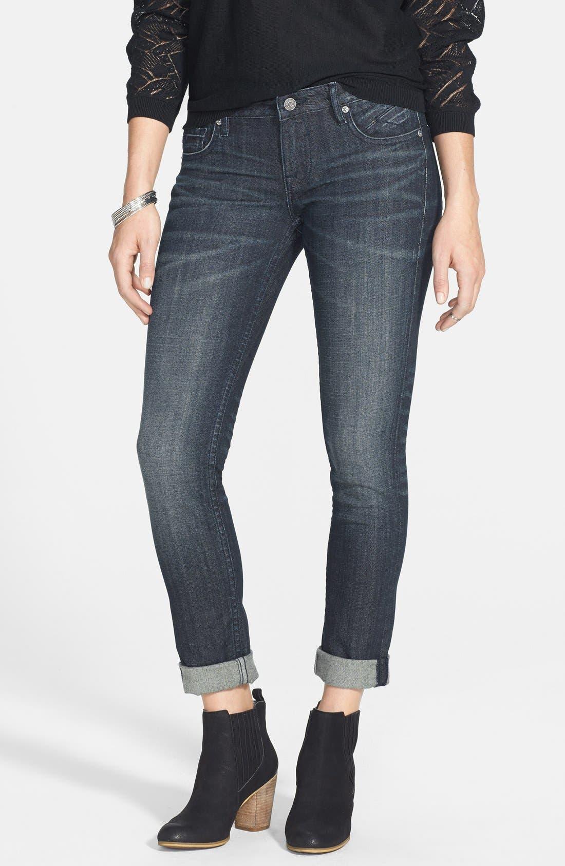 'Thompson Tomboy' Crop Jeans, Main, color, 403