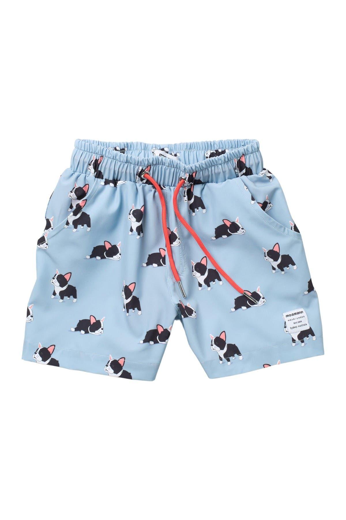 Image of Mosmann Australia Frenchie Print Swim Shorts