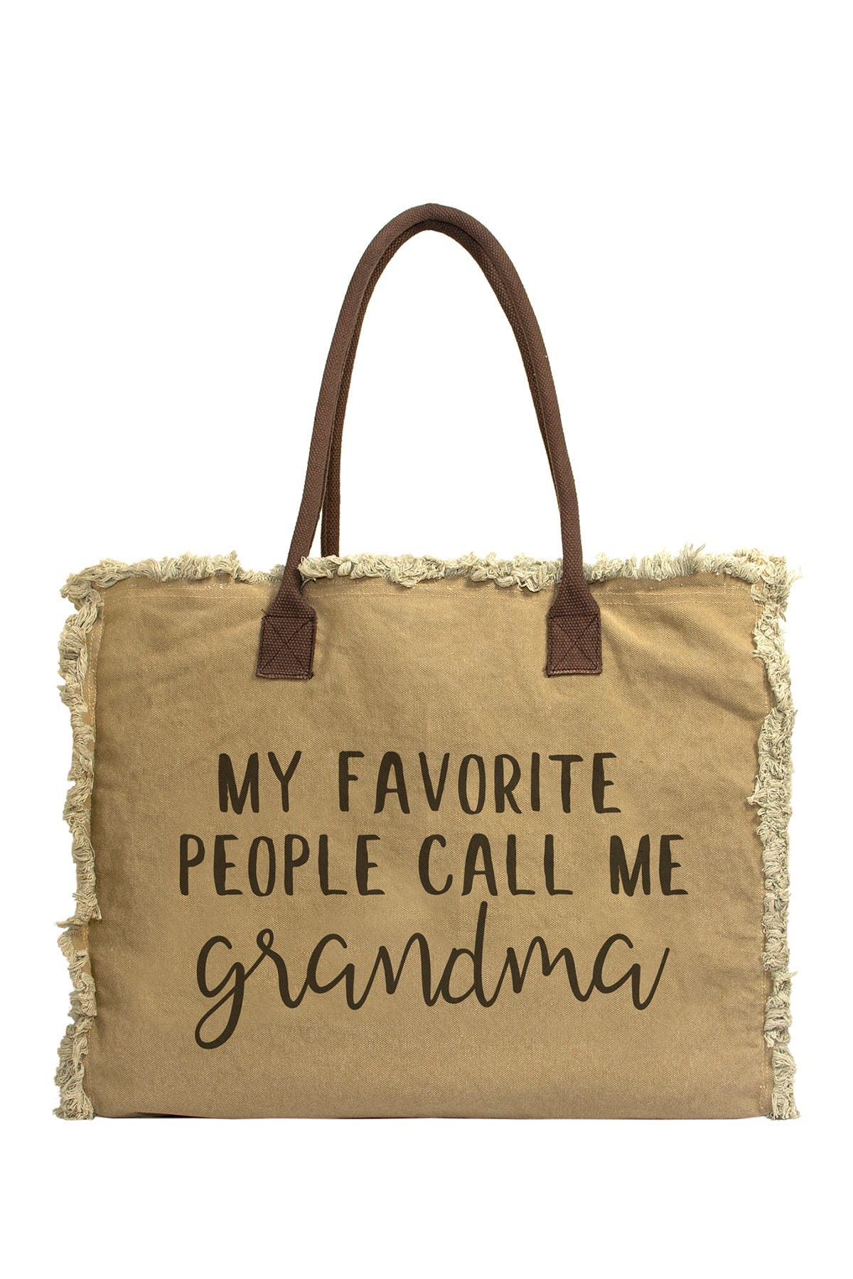 Image of Vintage Addiction My Favorite People Call Me Grandma Tote Bag