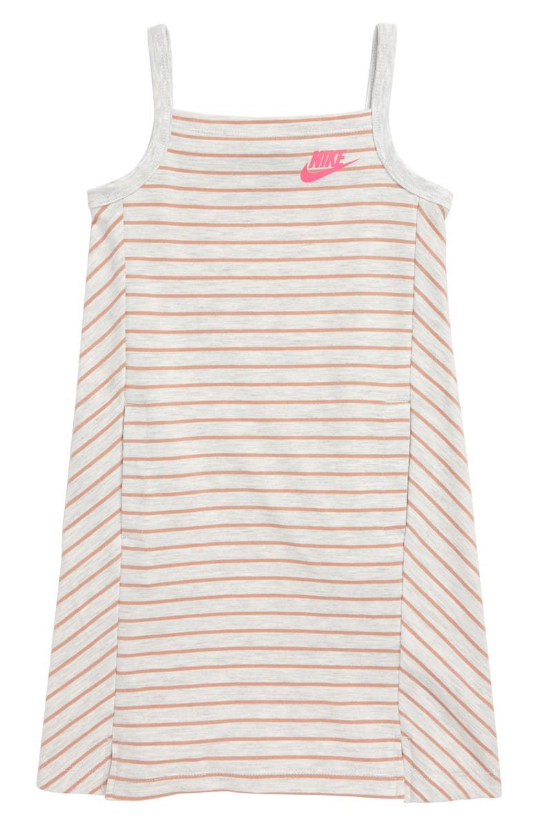 NIKE Sportswear Stripe Tank Dress, Main, color, 222