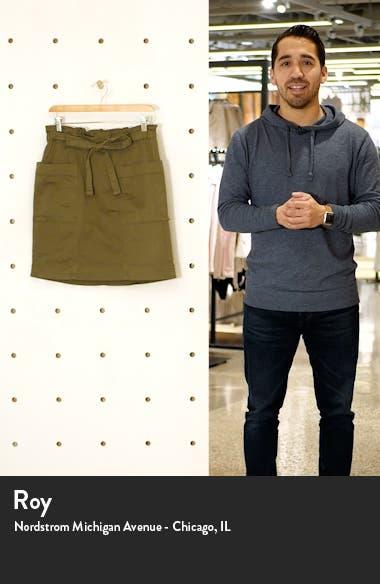 Tie Waist Utility Skirt, sales video thumbnail