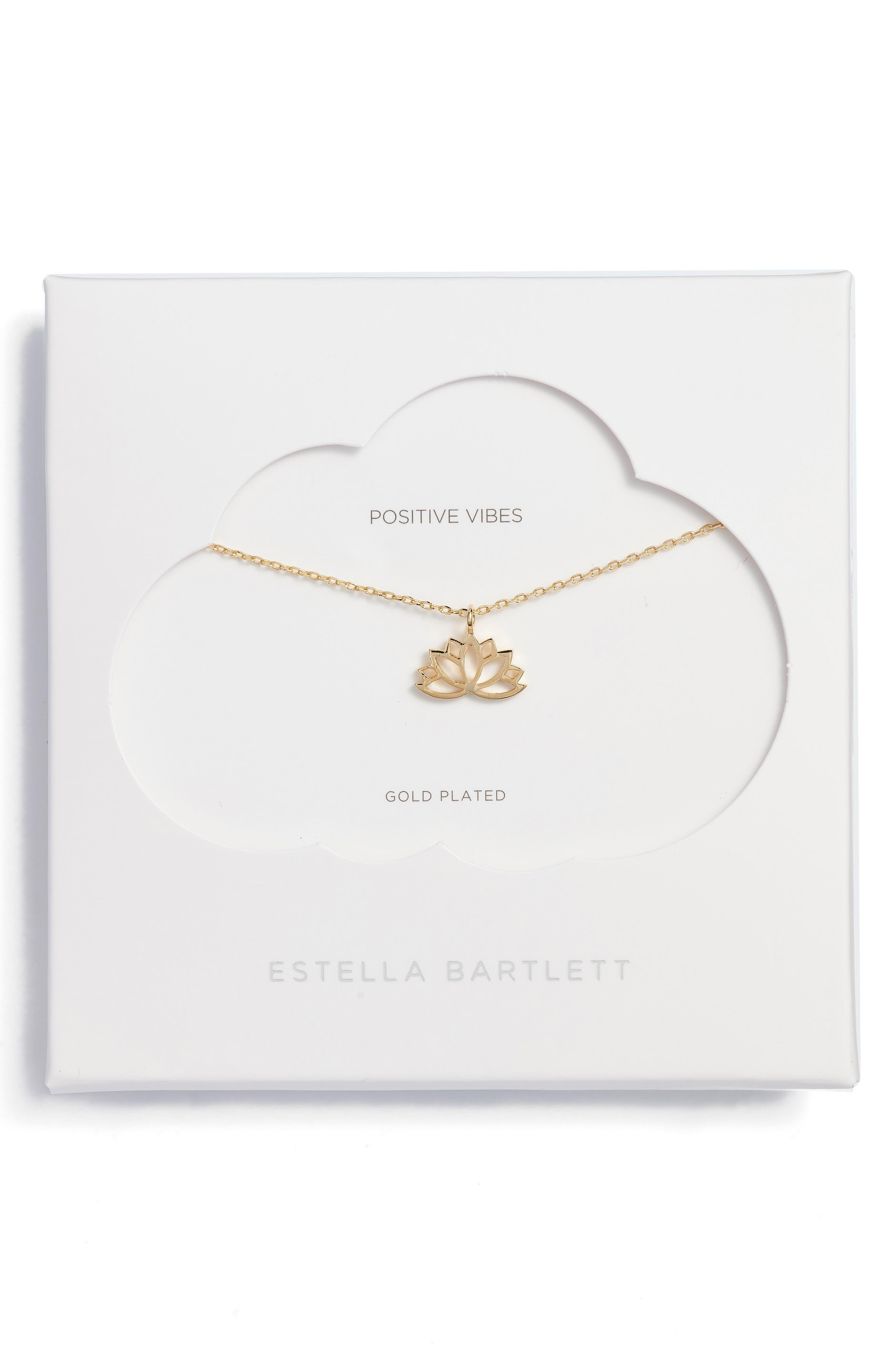 Lotus Leaf Pendant Necklace