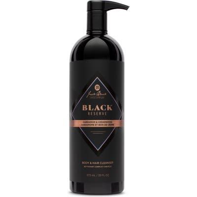 Jack Black Jumbo Black Reserve Body & Hair Cleanser