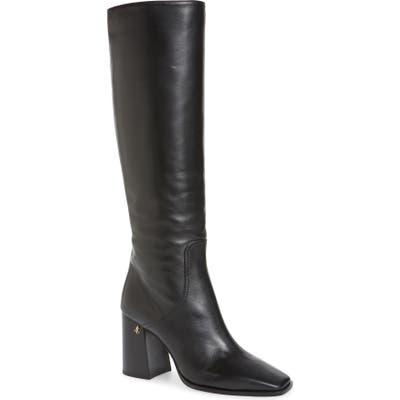 Jimmy Choo Brionne Leather Knee Boot - Black