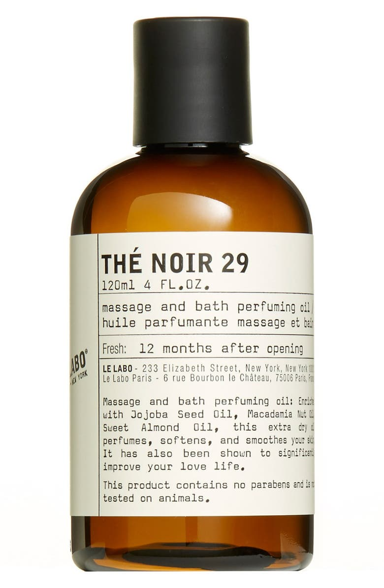 LE LABO 'Thé Noir 29' Body Oil, Main, color, 000