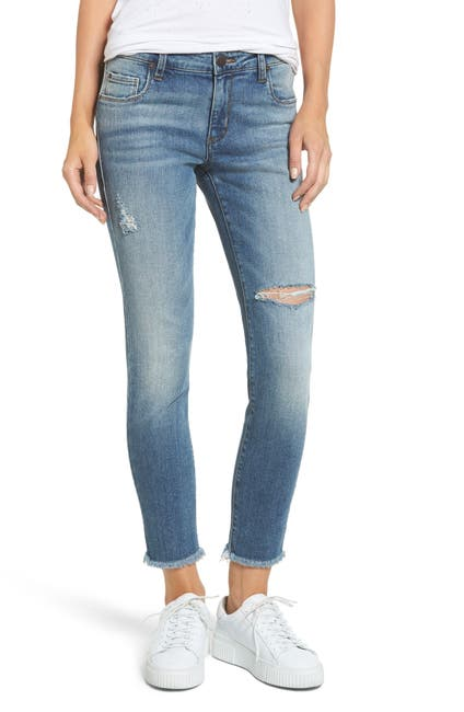Image of STS BLUE Taylor You Wish Ripped High Waist Jeans