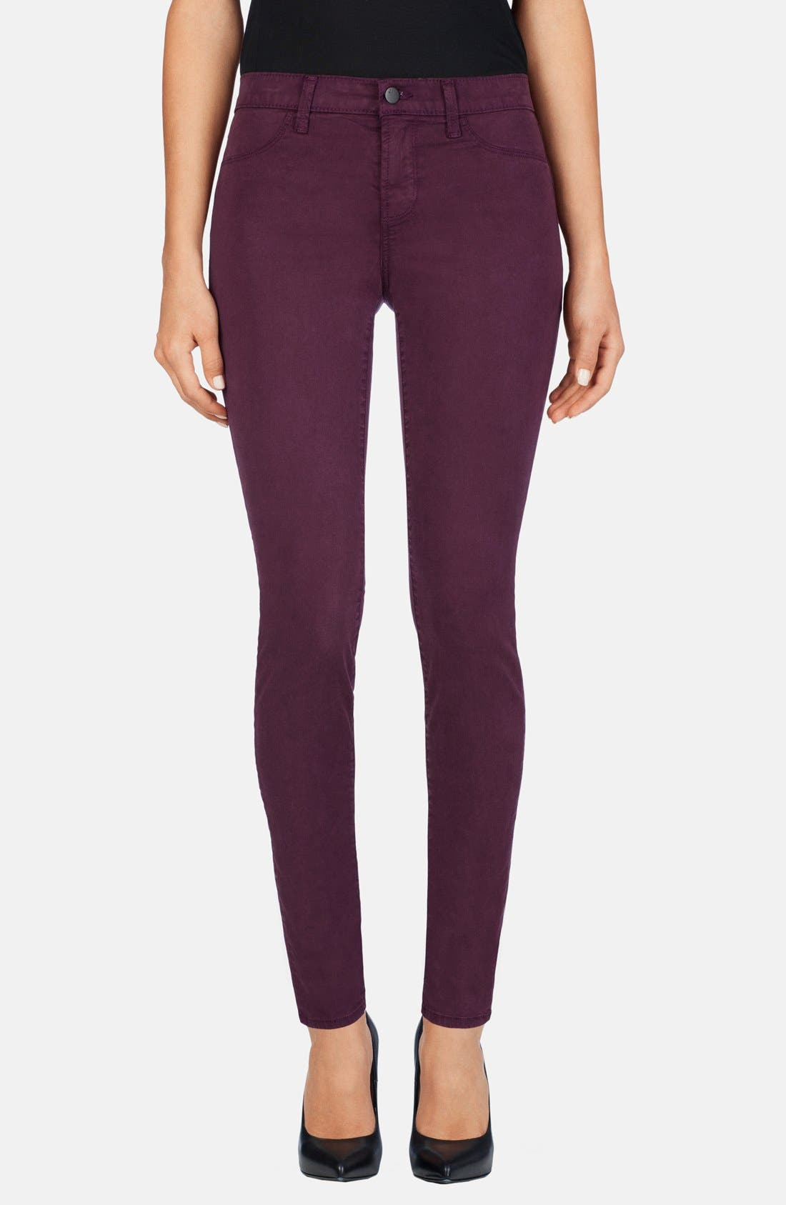 ,                             '485' Mid Rise Super Skinny Jeans,                             Main thumbnail 49, color,                             502