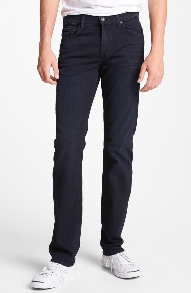 7 FOR ALL MANKIND<SUP>®</SUP> 'Slimmy' Slim Straight Leg Jeans, Main, color, 400