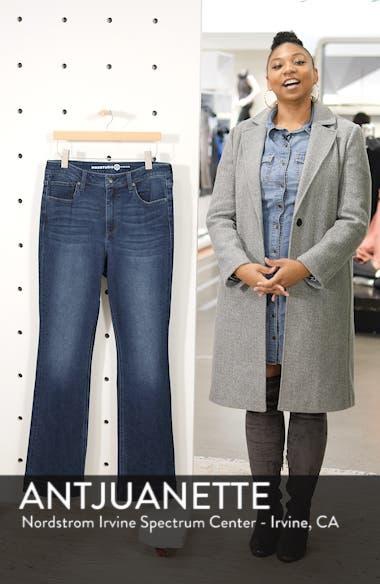 Perfect Vintage High Rise Slim Bootcut Jeans, sales video thumbnail