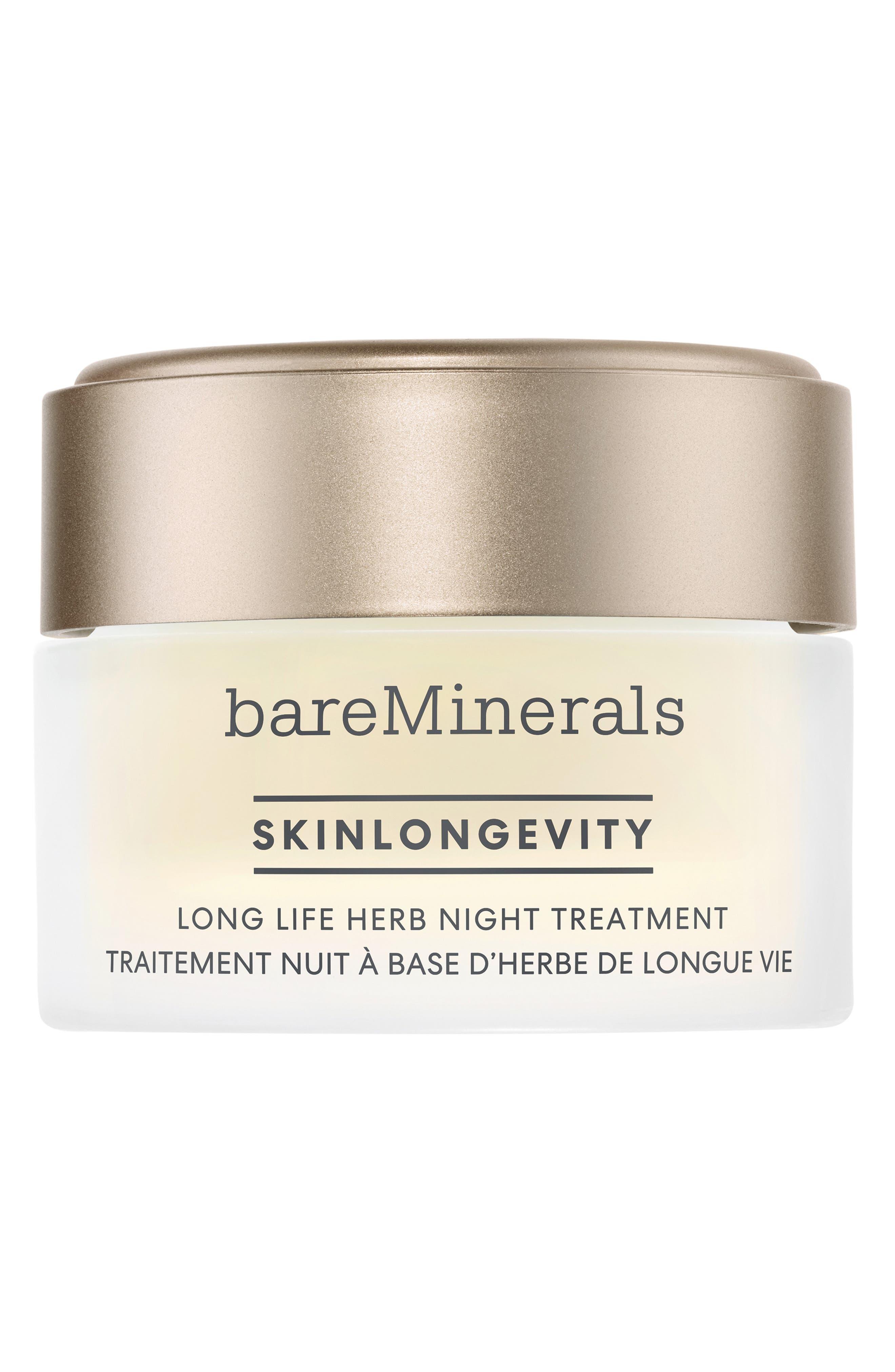 Bareminerals Skinlongevity Long Life Herb Anti-Aging Night Treatment