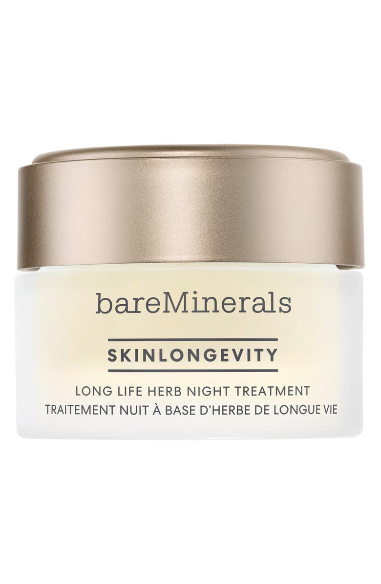 BAREMINERALS<SUP>®</SUP> Skinlongevity Long Life Herb Night Treatment, Main, color, NO COLOR