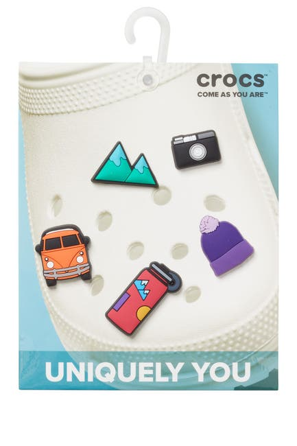 Image of Crocs Jibbitz Van Life - Pack of 5