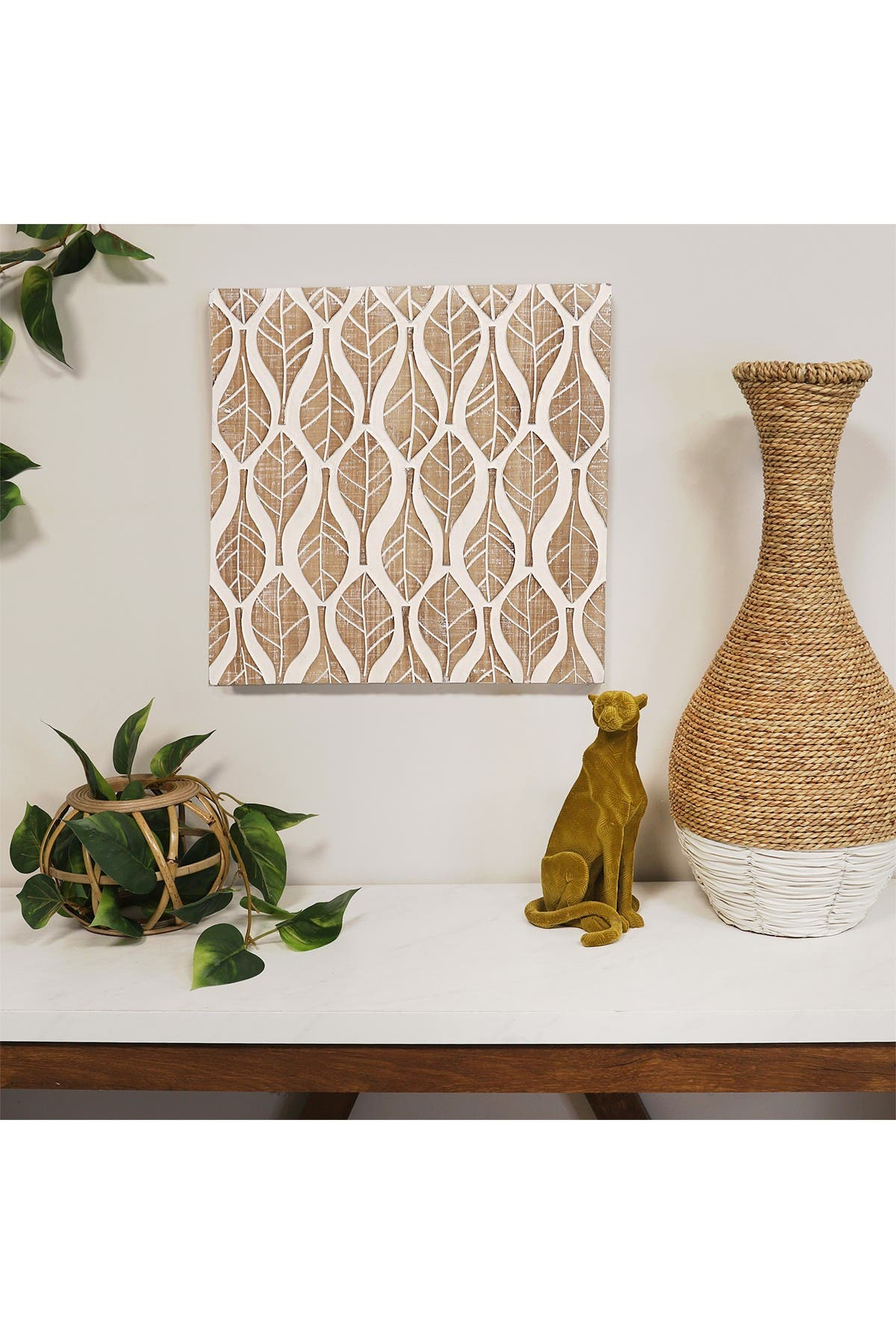 Stratton Home Leaf Patterned Wood Wall Decor Nordstrom Rack