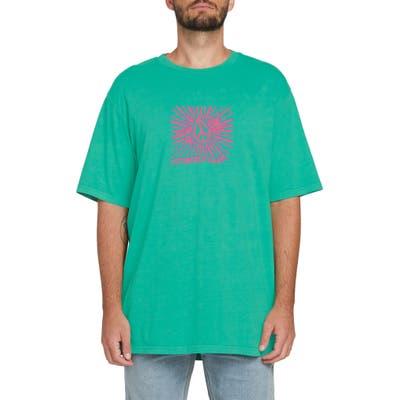 Volcom Progress Star Graphic T-Shirt, Green