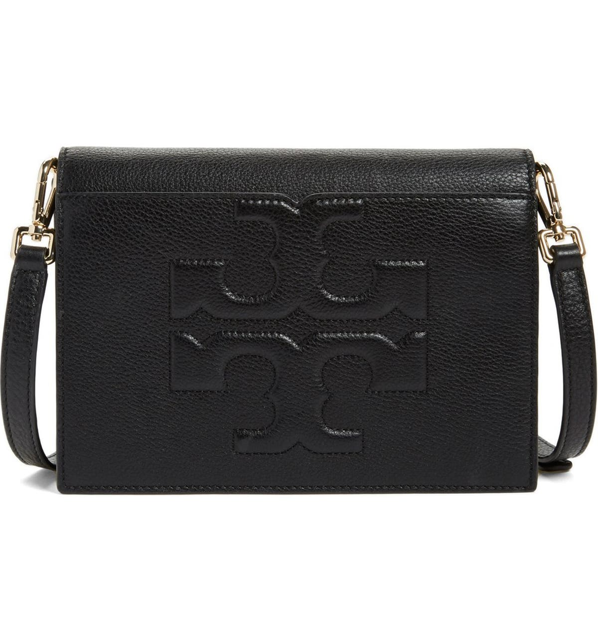 d866f107c Tory Burch 'Bombe T' Leather Convertible Crossbody Bag | Nordstrom