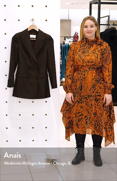 Cameron Windowpane Wool Jacket, sales video thumbnail