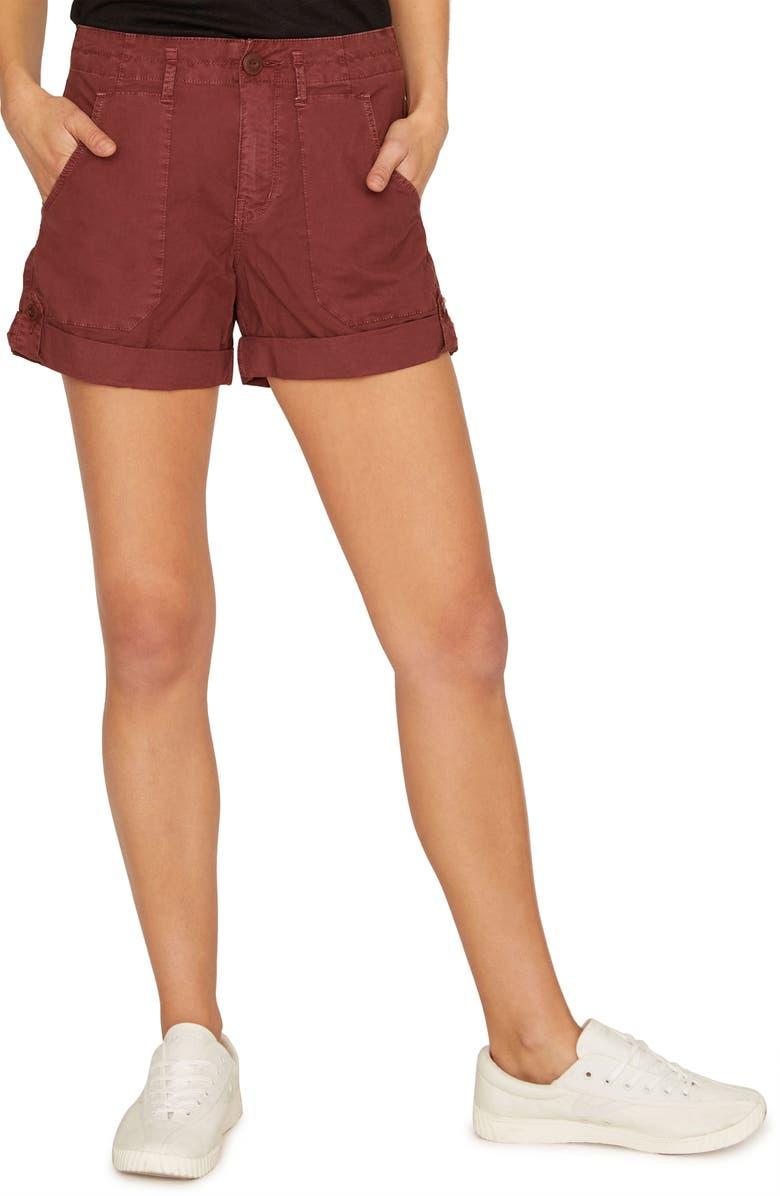 SANCTUARY Explorer Shorts, Main, color, HENNA