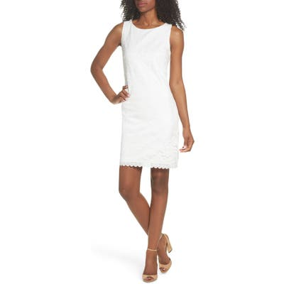 Eliza J Lace A-Line Minidress