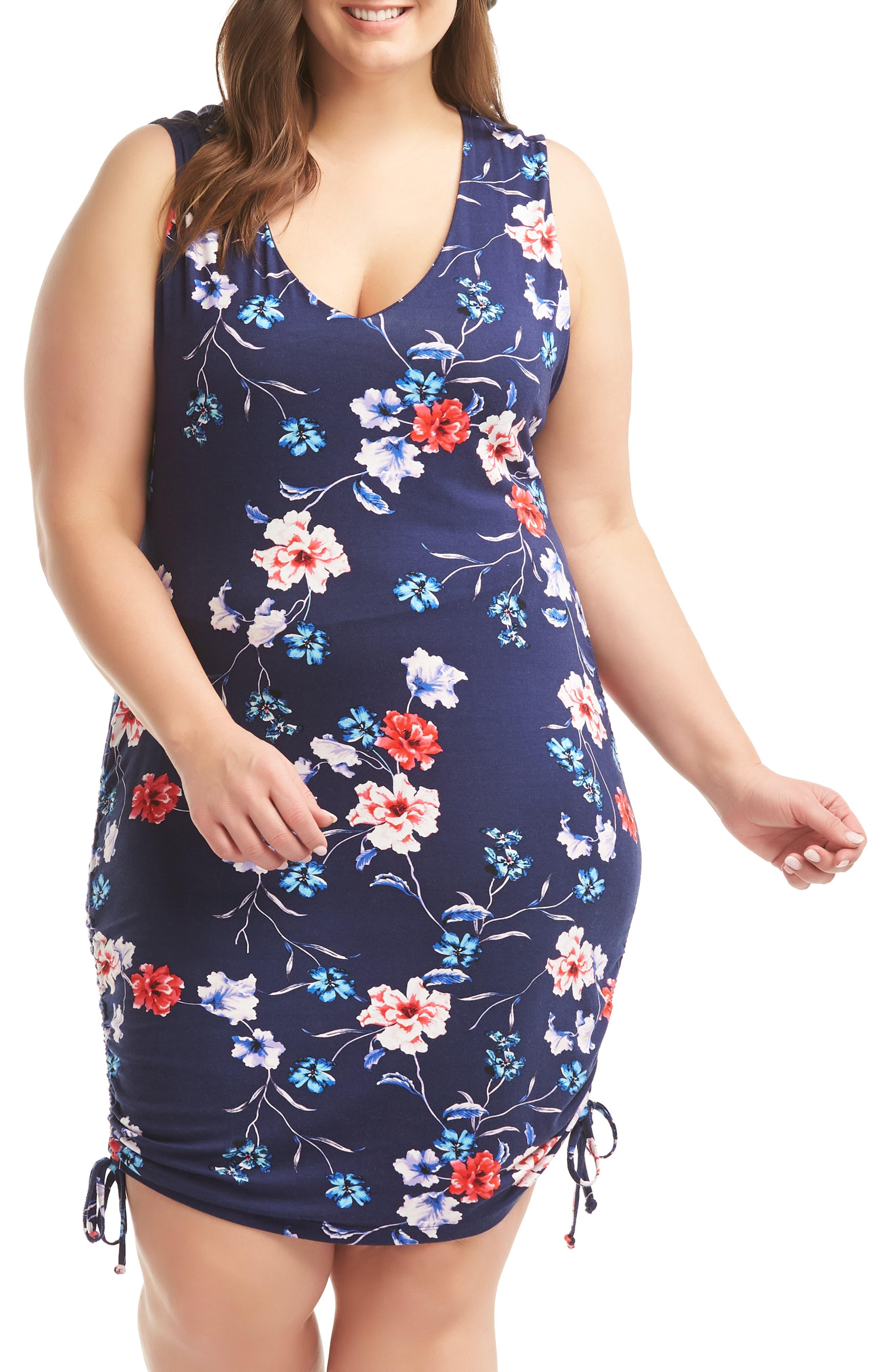 Plus Size Lemon Tart Priya Dress, Black