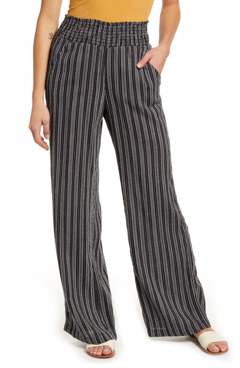 BILLABONG Cut Through Pants, Main, color, BLACK MULTI