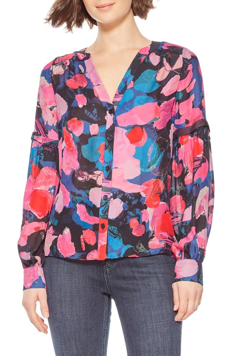PARKER Carmela Blouse, Main, color, PEONY DREAMS