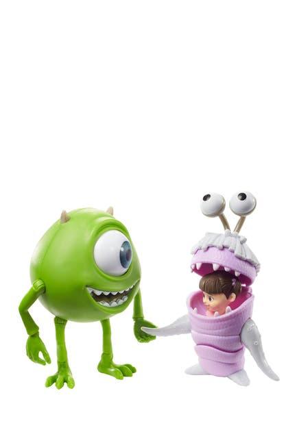 Image of Mattel Disney Pixar Monsters, Inc. Mike Wazowski & Boo Figurine Playset