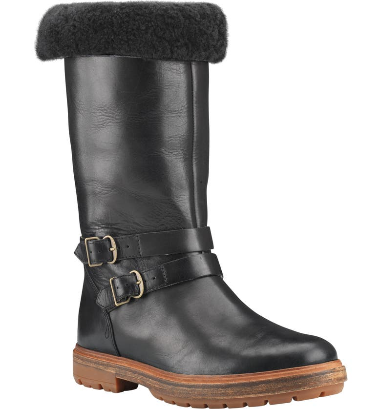 TIMBERLAND Riley Flair Boot, Main, color, BLACK LEATHER