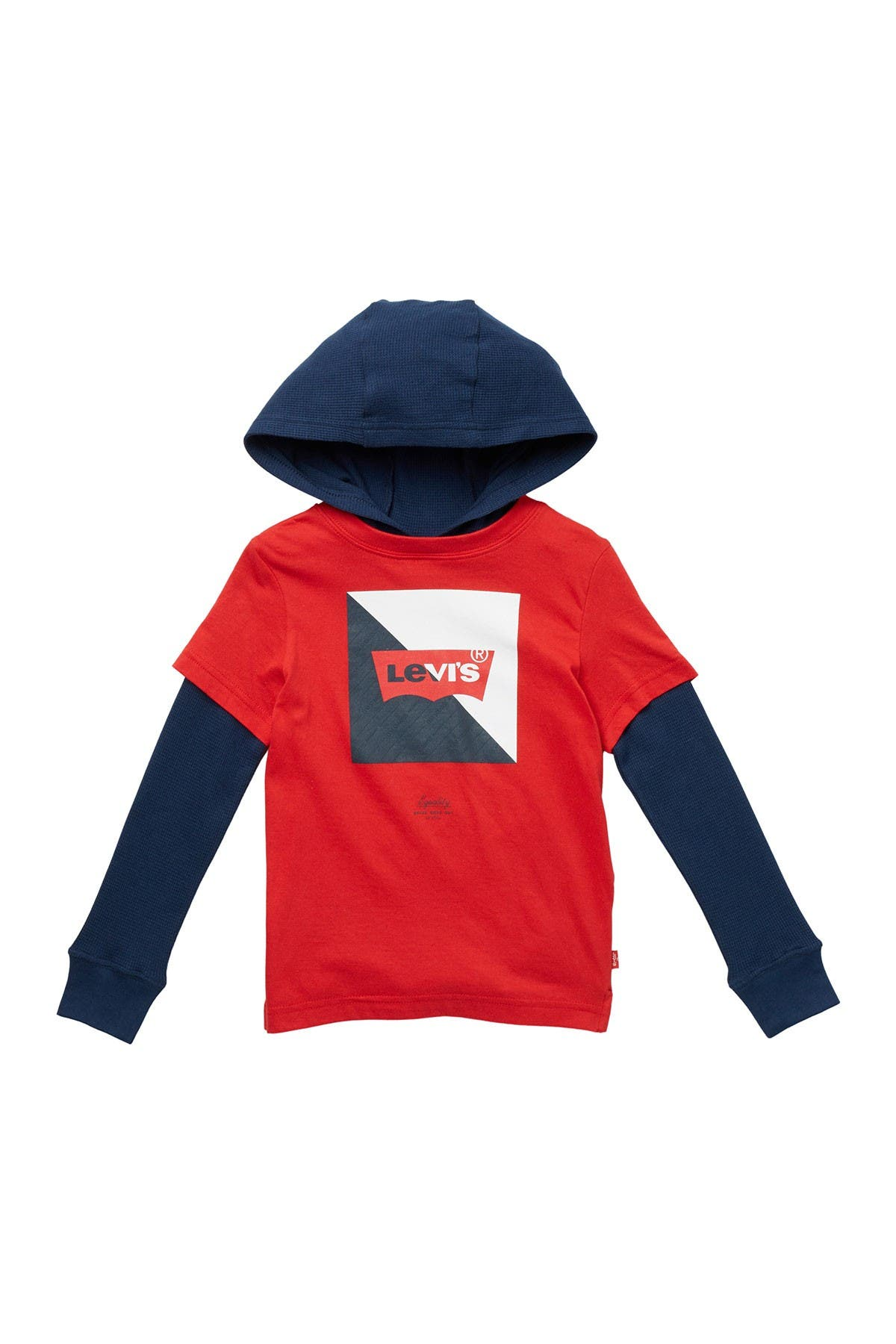 Image of Levi's Twofer Pullover Hoodie