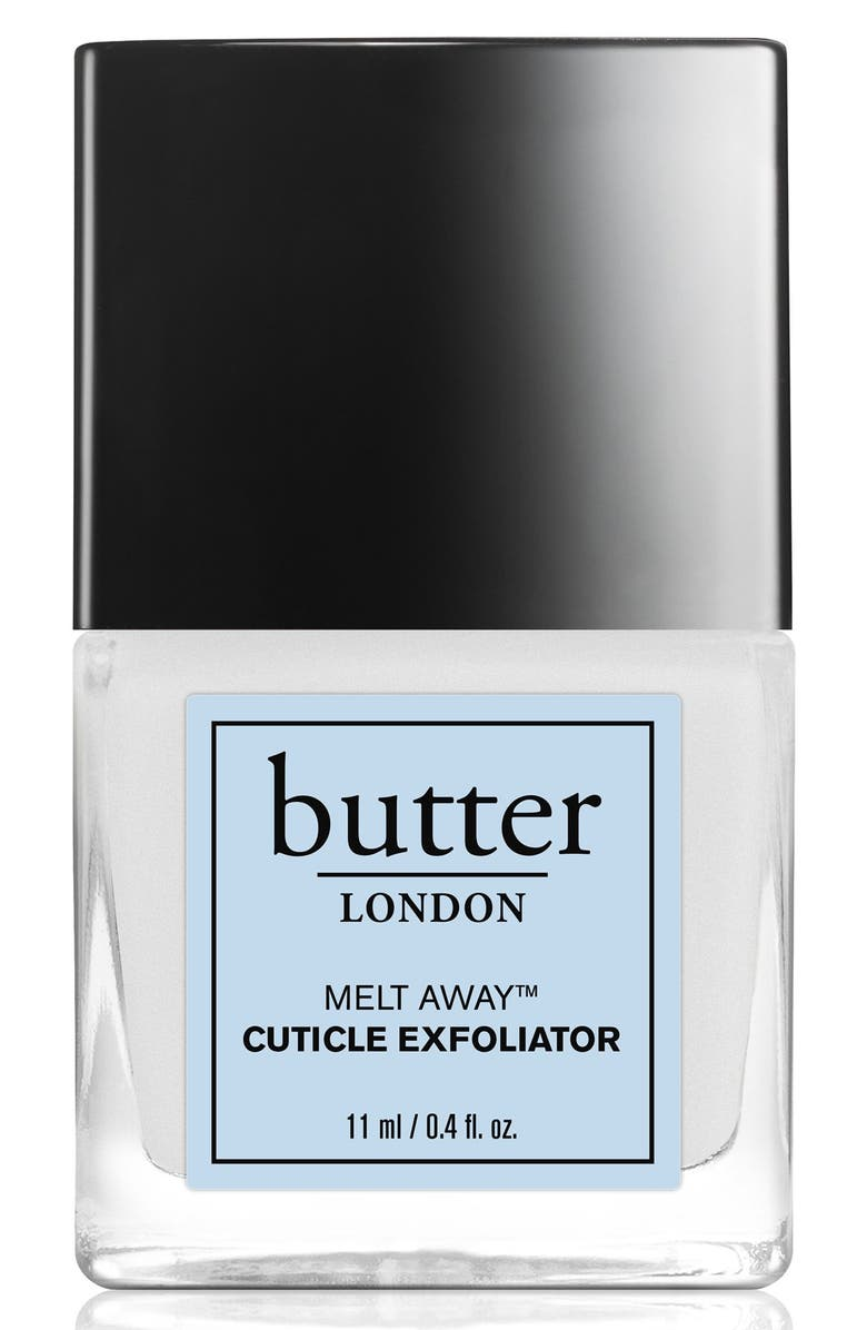 BUTTER LONDON 'Melt Away<sup>™</sup>' Cuticle Exfoliator, Main, color, 000
