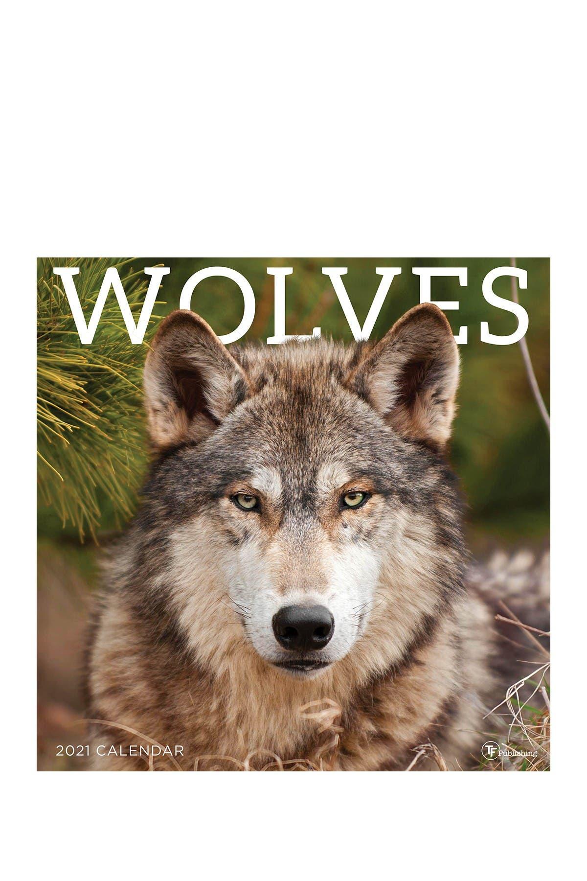 Image of TF Publishing 2021 Wolves Wall Calendar