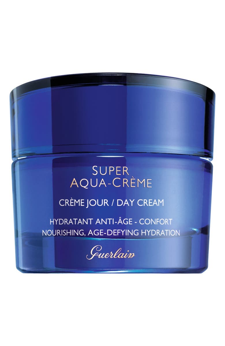 GUERLAIN Super Aqua Hydrating Day Cream Moisturizer, Main, color, 000