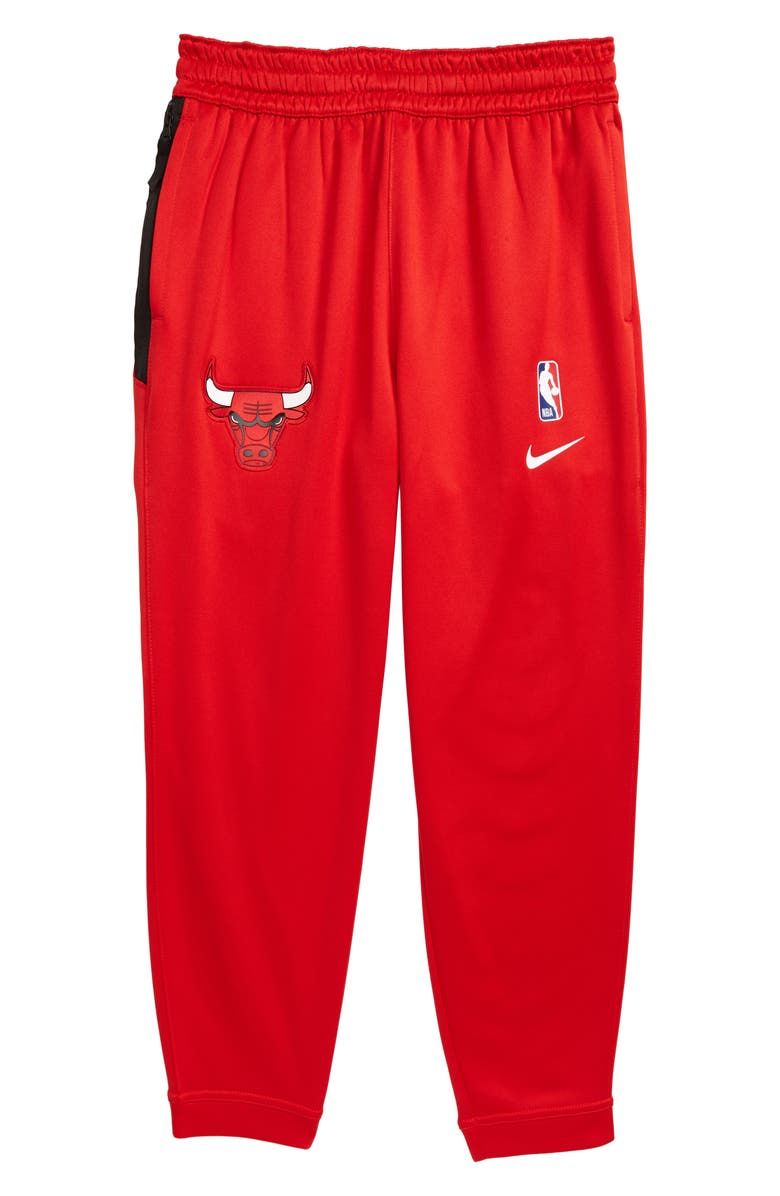 NIKE NBA Chicago Bulls Dry Sportlight Sweatpants, Main, color, UNIVERSITY RED