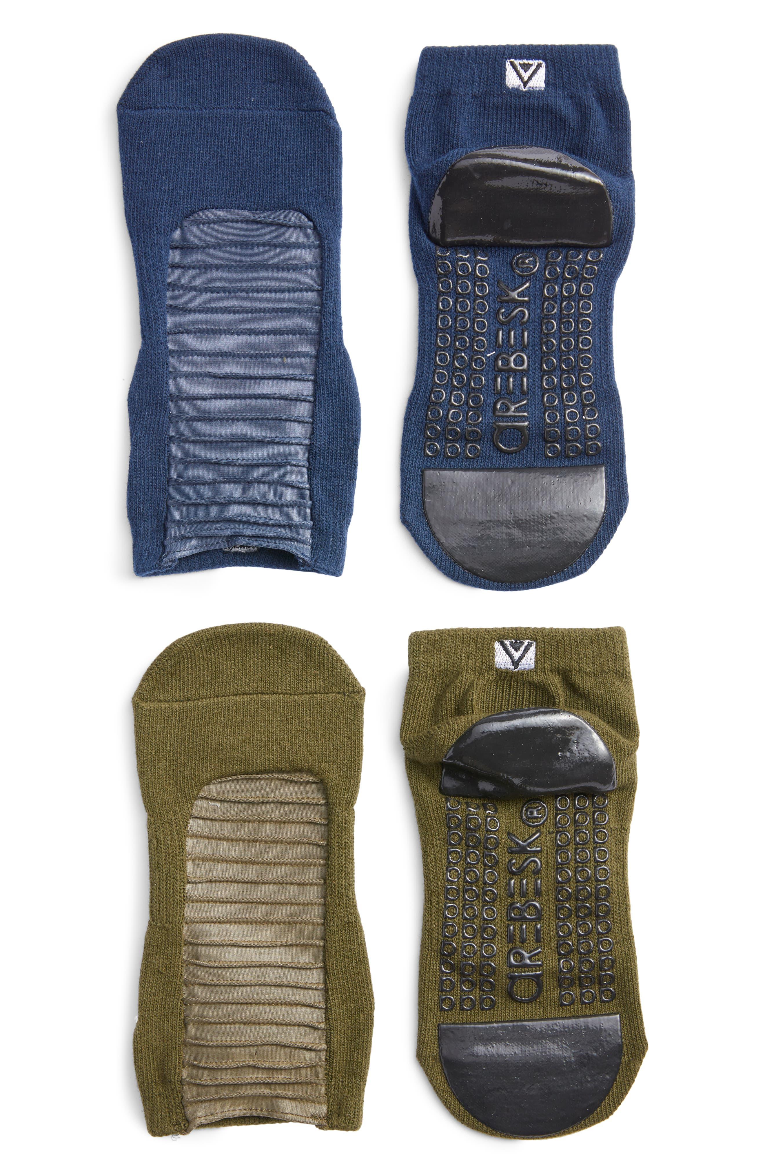 Moto Assorted 2-Pack No-Slip Socks