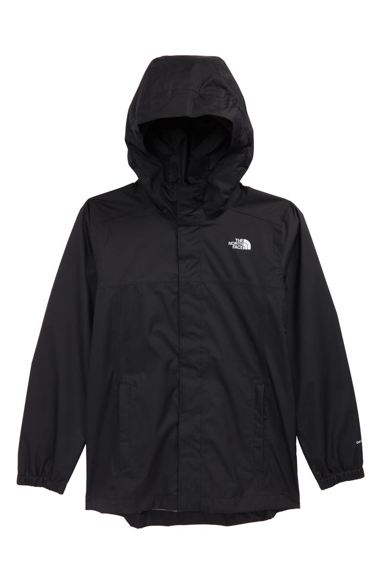 THE NORTH FACE Resolve Waterproof Jacket, Main, color, BLACK