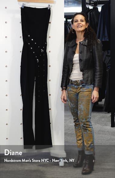 Jessi Double Belt Strapless Jumpsuit, sales video thumbnail
