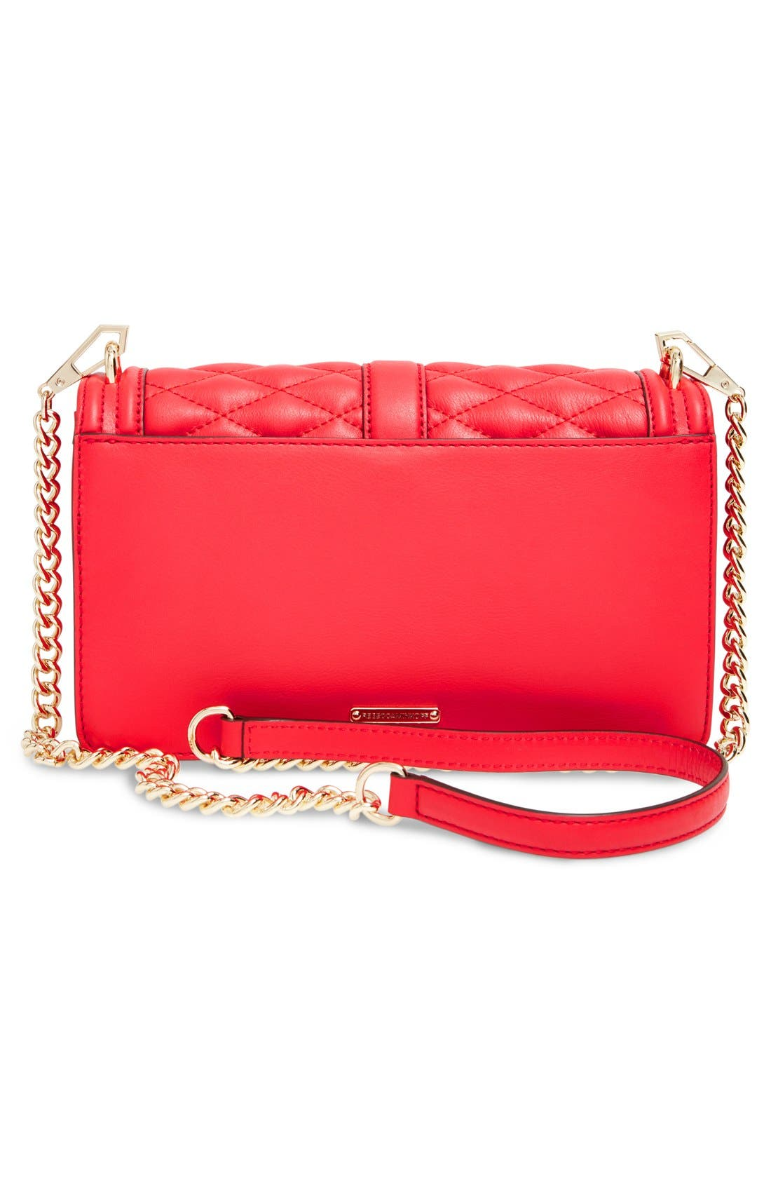,                             Love Leather Crossbody Bag,                             Alternate thumbnail 117, color,                             600