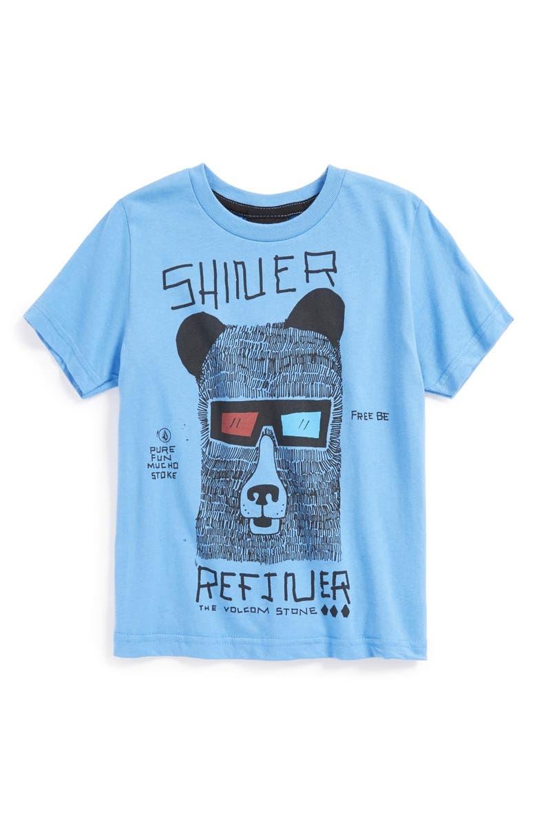 VOLCOM 'Shiner Refiner' Short Sleeve T-Shirt, Main, color, 408