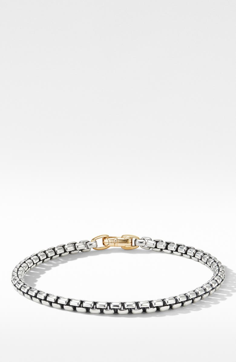 DAVID YURMAN Bel Aire Bracelet with 14K Yellow Gold, Main, color, SILVER/ GOLD